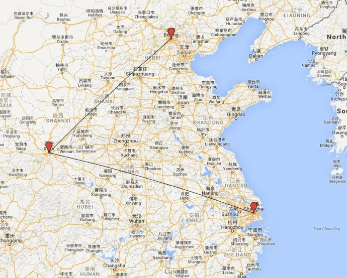 ruta china 2010