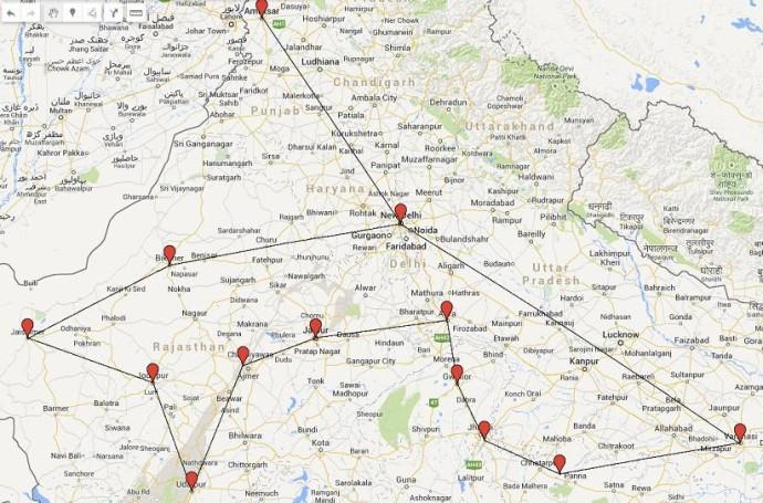 ruta india blog