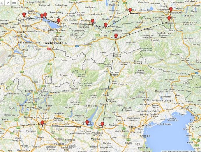 ruta sur alemania 2010