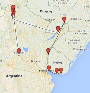mapa sudamerica 2