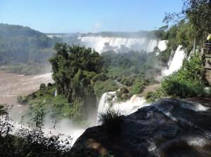 iguazú lado argentina pasarelas superiores