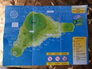 Mapa isla de pascua