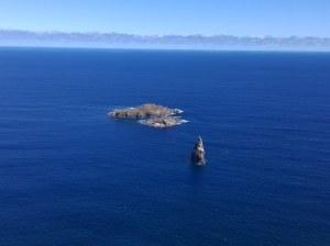 Islas motu nul desde orongo i.pascua