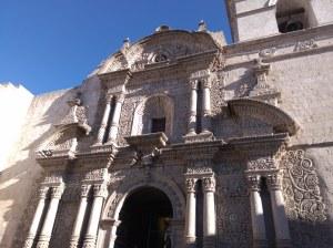 Iglesia la compañia de jesus Arequipa