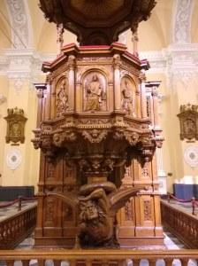 Púlpito catedral Arequipa