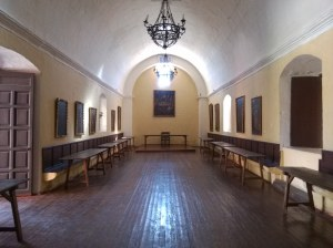 'Refectorio' o comedor monasterio sta catalina arequipa