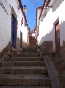 Barrio san blas cuzco