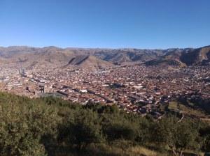 Cuzco vista desde saqsayhuaman