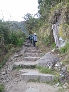 Subida a Machu Pichu