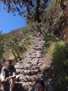 Subida a montaña Machu Pichu