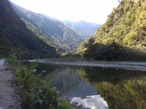 Camino a Hidroeléctrica