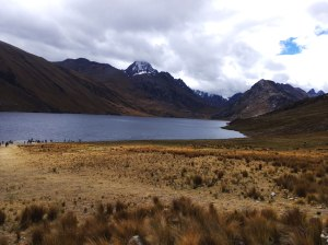 Laguna Querococha PN Huascaran Perú