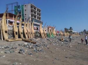 Huanchaco playa (cerca de trujillo)