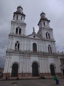 Iglesia Sto Domingo Cuenca Ecuador
