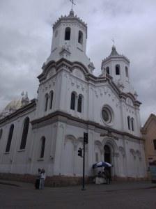 Iglesia Santo Cenáculo Cuenca ecuador