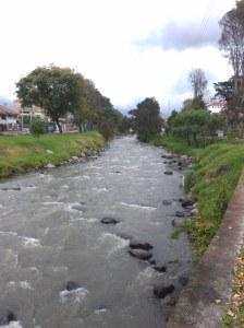 Río Tomebamba Cuenca ecuador