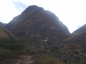 Montaña Nariz del diablo sibambe ecuador