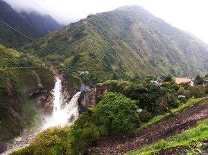 Cascada Agoyán Baños ecuador