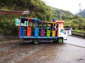Chivas en Baños Ecuador