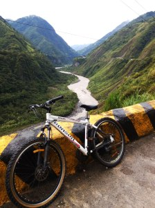 Ruta de las cascadas Baños Ecuador