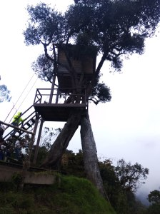 Casa del árbol Baños Ecuador