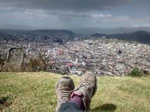 vistas desde monte panecillo quito ecuador