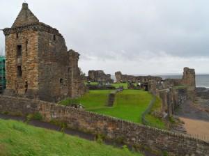 castillo st. andrews escocia