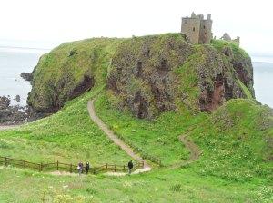 Dunnottar castle escocia