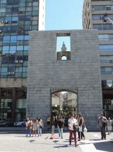 Puerta ciudadela montevideo