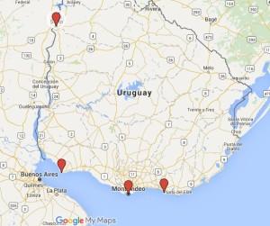 mapa uruguay