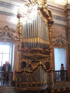órgano iglesia des clerigos oporto