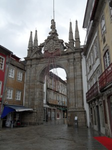 Arco porta Nova braga portugal