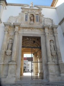 puerta férrea universidad de coimbra