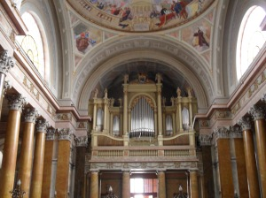 basílica Eger hungria
