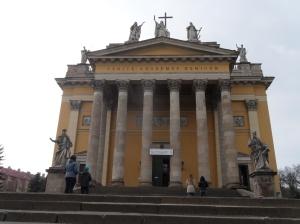 basilica Eger Hungría