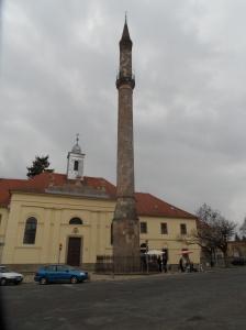 minarete eger hungria